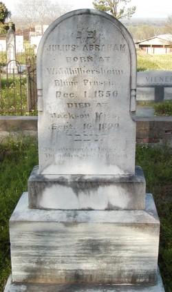 Julius Abraham