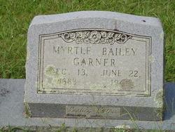 Fannie Myrtle <I>Hames Bailey</I> Garner