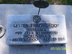 Lester Jesse Broadfoot