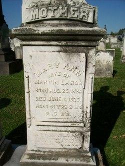 Mary Ann <I>Levers</I> Laros