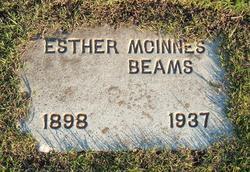 Esther B. <I>McInnes</I> Beams