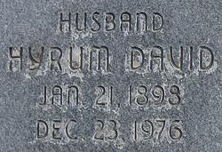 Hyrum David West