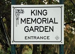 King Memorial Garden