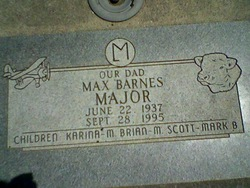 Max Barnes Major