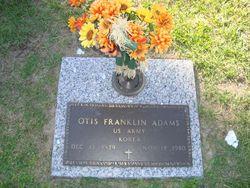 Otis Franklin Adams