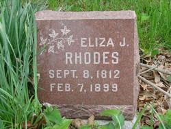 Eliza Jane <I>Stout</I> Rhodes
