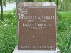Sarah Elizabeth <I>Sims</I> Rhodes