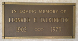Leonard H Talkington