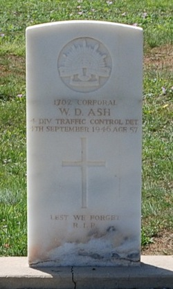 Corp W. D. Ash