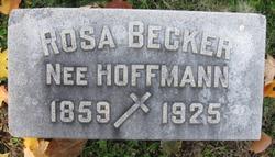 Rosa <I>Hoffmann</I> Becker