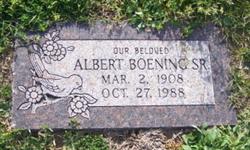 Albert T. Boening, Sr