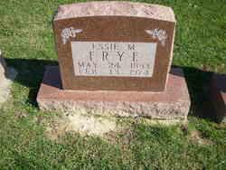 Essie May <I>Jones</I> Frye