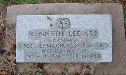 """Kenneth Lee """"Kenny"""" Arb"""
