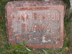 Anna Benson Blanck