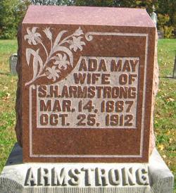 Ada May <I>Sherwood</I> Armstrong