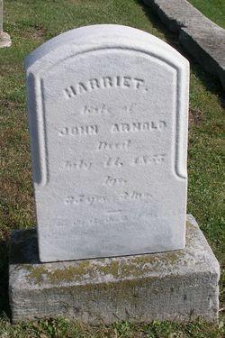 Harriett <I>Burgess</I> Arnold