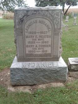 Mary Elizabeth <I>Heaton</I> McDaniel