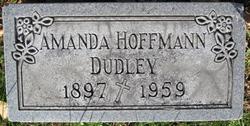 Amanda Jean <I>Hoffmann</I> Dudley