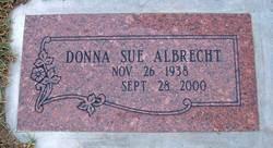 Donna Sue <I>Albrecht</I> Albrecht