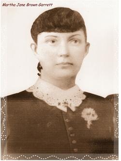 Martha Jane <I>Brown</I> Garrett