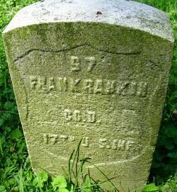 Pvt Frank Rankin