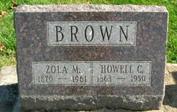 Zola M. <I>Ochiltree</I> Brown