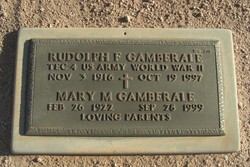 Rudolph F Gamberale
