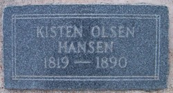 """Kisten Olsen """"Or Christine"""" <I>Rasmussen</I> Hansen"""