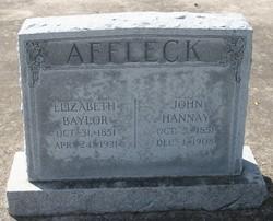 John Hannay Affleck