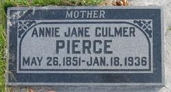 Annie Jane <I>Tomlinson</I> Pierce