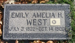 Emily Amelia <I>Hooley</I> West
