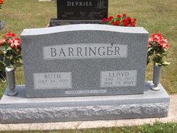 """Lloyd Edward """"Big Ed"""" Barringer"""