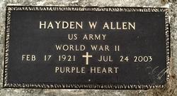 Hayden W. Allen