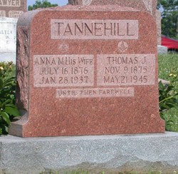 Anna Marie <I>Padgett</I> Tannehill