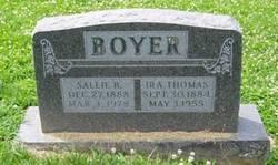 Sallie B Boyer