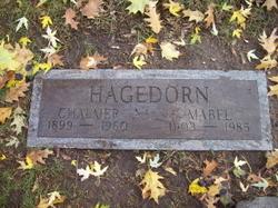 Mabel Grace <I>Freel</I> Hagedorn