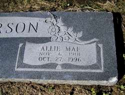 Allie Mae <I>Goldsmith</I> Anderson