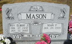 Rev Elbert J Mason