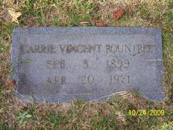 Carrie <I>Vincent</I> Rountree