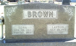 Edna May Brown