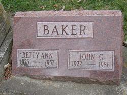 Betty Ann <I>Ray</I> Baker