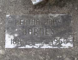 Bertha May <I>Parks</I> Barnes