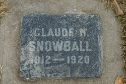 Claude H Snowball