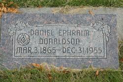 Daniel Ephraim Donaldson