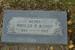 Matilda Margretta <I>Petersen</I> Bishop
