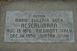 Marie Eugenia <I>Buex</I> Aeschlimann