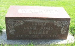 Annie <I>Jones</I> Walker
