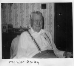 Mander H. Bailey