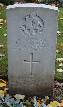 Private Edward Charles Eldridge