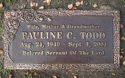 Pauline Carol <I>DeHaven</I> Todd